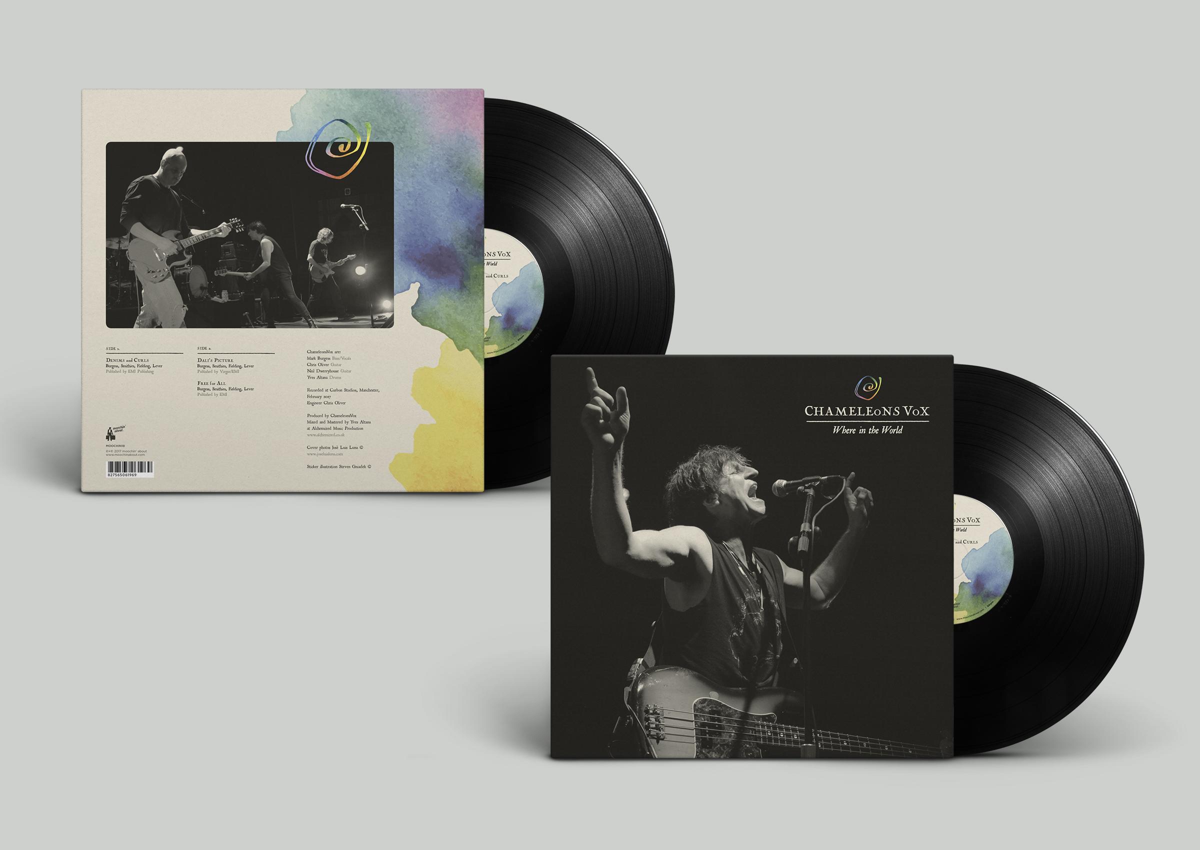 ChameleonsVox Vinyl Record MockUp